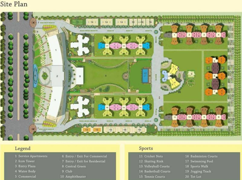 Images for Site Plan of Sam Palm Olympia