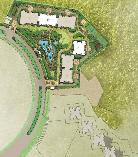 Images for Site Plan of DLF The Crest