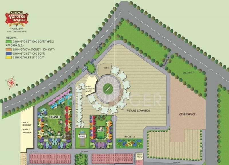 Images for Master Plan of Amrapali Jaura Heights