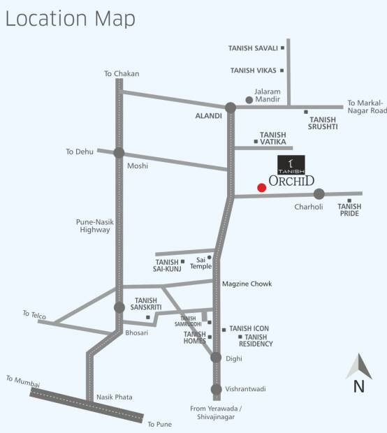 Images for Location Plan of Tanish Orchid