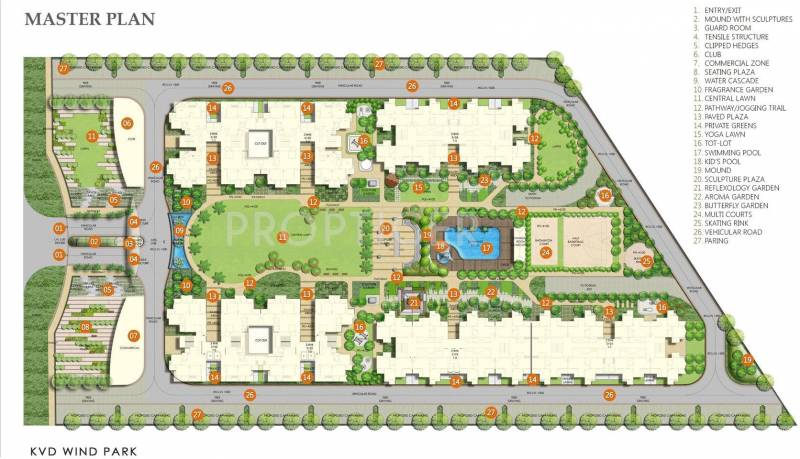 Images for Master Plan of KV Wind Park