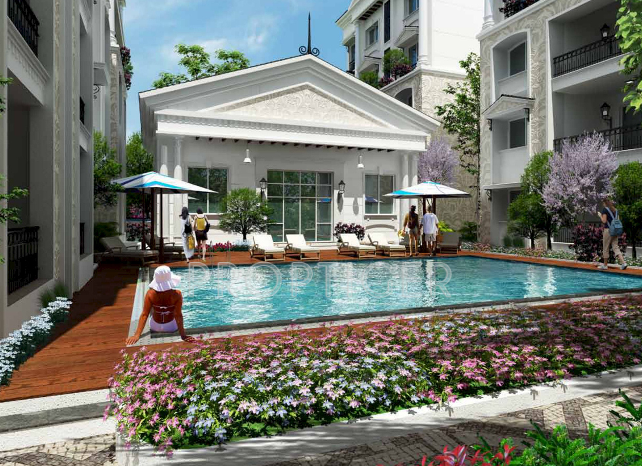 46 futuristic swimming pools - 1655 Sq Ft 3 Bhk 3t Apartment For Sale In First Futuristic Holding Lotus Palace Kasavanahalli Off Sarjapur Road Bangalore