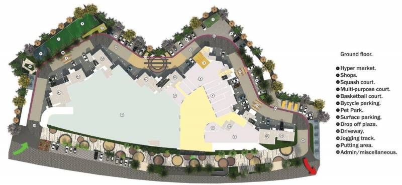 Images for Layout Plan of Monarch Aqua