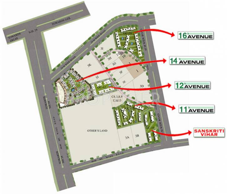 Images for Master Plan of Gaursons 11th Avenue