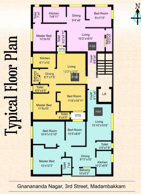 Images for Cluster Plan of Athreya Shringa