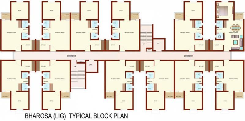 Images for Cluster Plan of Ansal Aasra Avom Bharosa