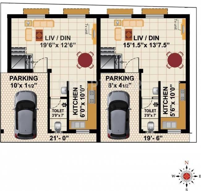 Images for Cluster Plan of RB Bagya Duplex Home