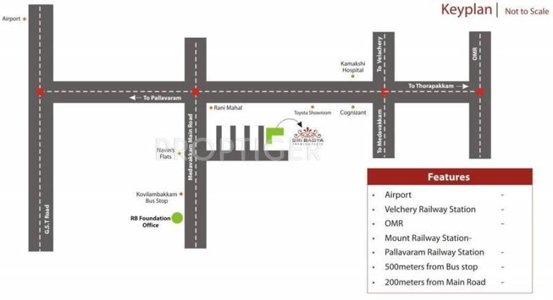 Images for Location Plan of RB Bagya Duplex Home
