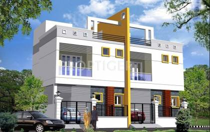 Images for Elevation of RB Foundations Bagya Duplex Home