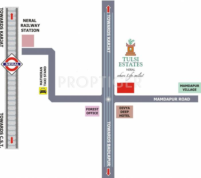 Images for Location Plan of Tulsi Darshan
