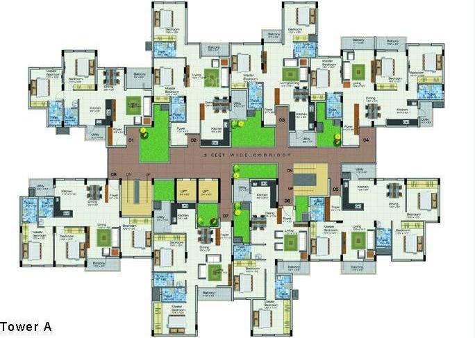 Images for Cluster Plan of GR Brundavan