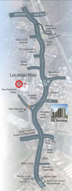 Images for Location Plan of GR Brundavan