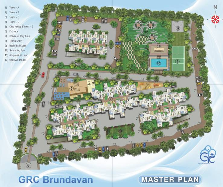 Images for Master Plan of GR Brundavan
