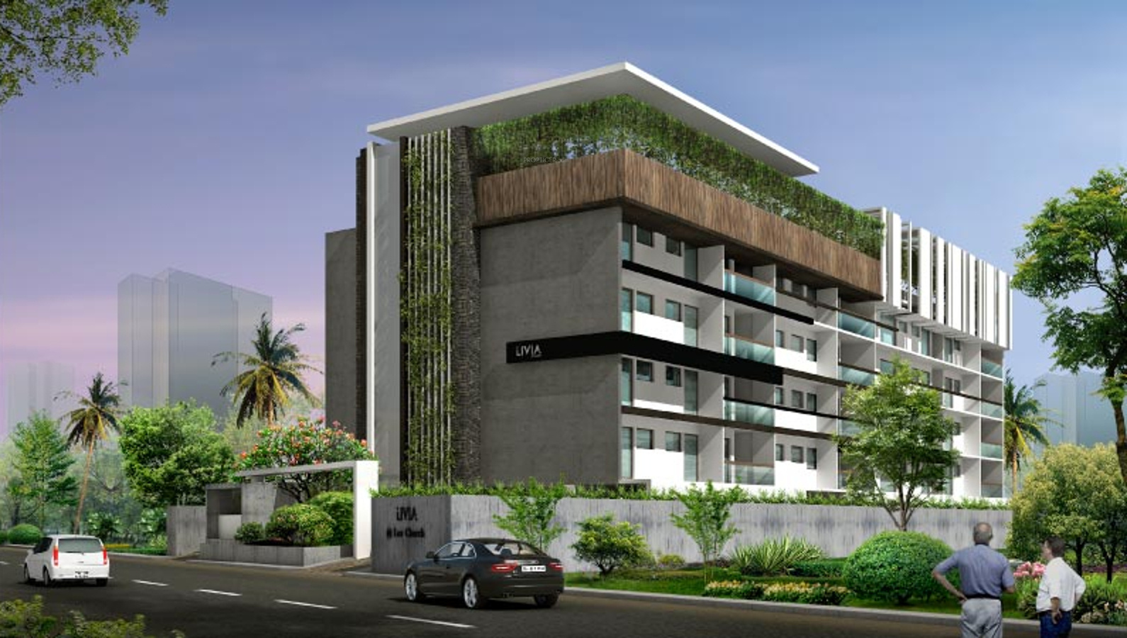 Main Elevation Image 1 Of Livia Spaces Livia Unit Available At Mylapore Chennai