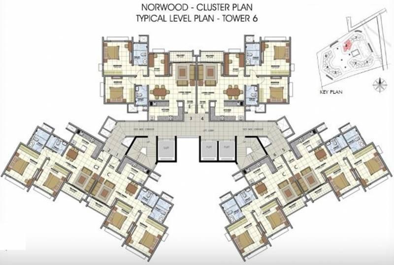 Images for Cluster Plan of Prestige Norwood at Sunrise Park