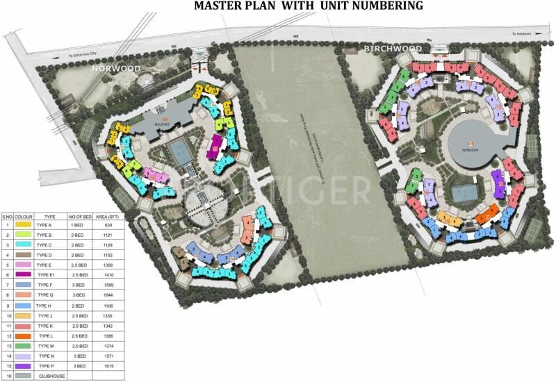 Images for Master Plan of Prestige Norwood at Sunrise Park
