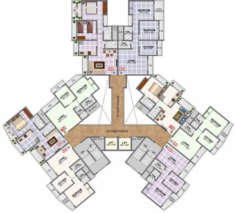 Pentagon Floor Plan Best Gallery