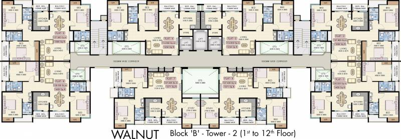 Images for Cluster Plan of Navin Starwood Towers
