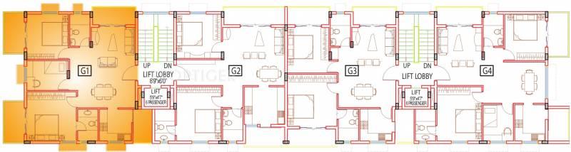 Images for Cluster Plan of ETA Opal Resedency