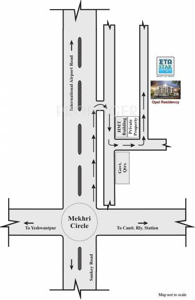 Images for Location Plan of ETA Opal Resedency