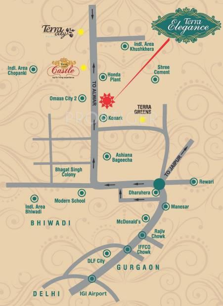 Images for Location Plan of Terra Elegance