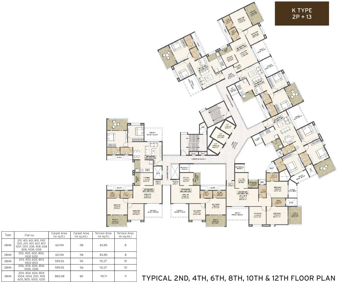 Kolte Patil Western Avenue In Wakad Pune Price