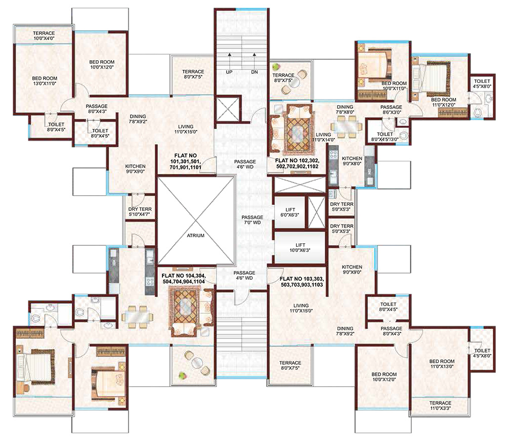 100 Axis Floor Plans Draw A Plan In Sketchup