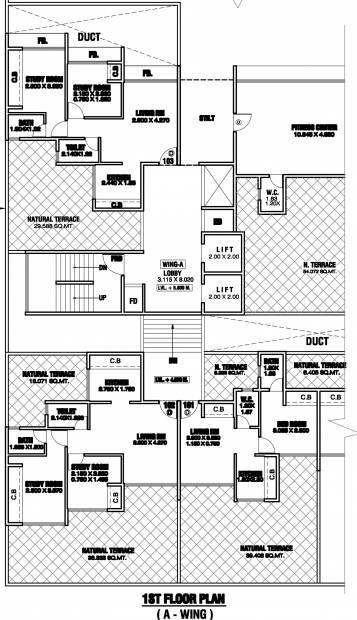 Images for Cluster Plan of Shankheshwar Pallazo