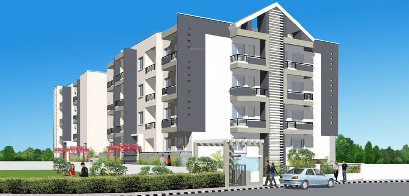 pnr-group brinda-residency Elevation