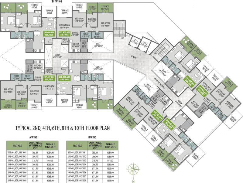 Images for Cluster Plan of Venkatesh Bliss