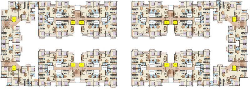 platinum-lifestyle Images for Cluster Plan of Sai Platinum Lifestyle