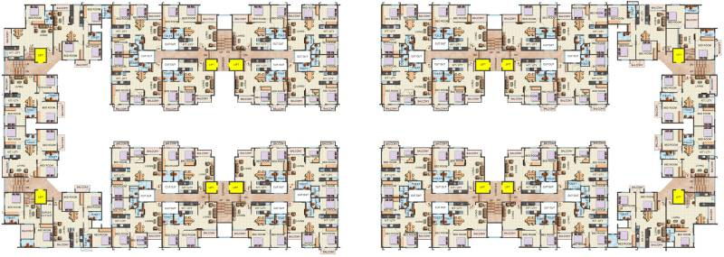 Images for Cluster Plan of Sai Platinum Lifestyle