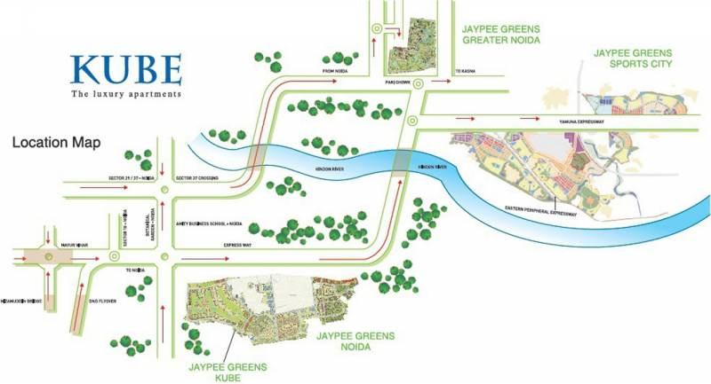 Images for Location Plan of Jaypee Kube