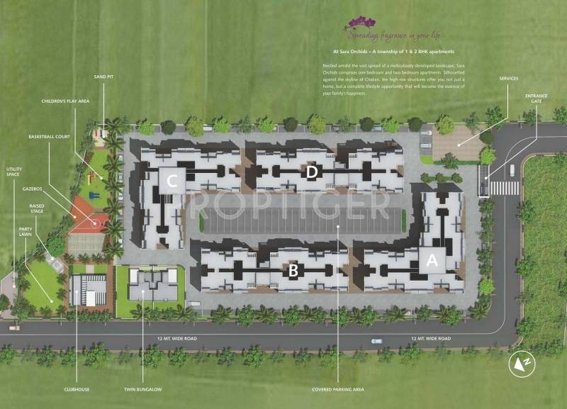 Images for Layout Plan of Sara Orchids