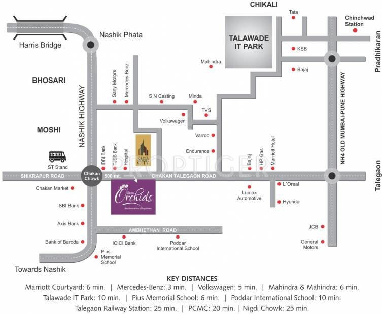 Images for Location Plan of Sara Orchids