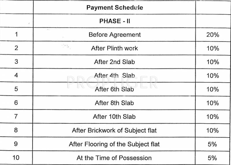 Images for Payment Plan of Pharande Celestial City