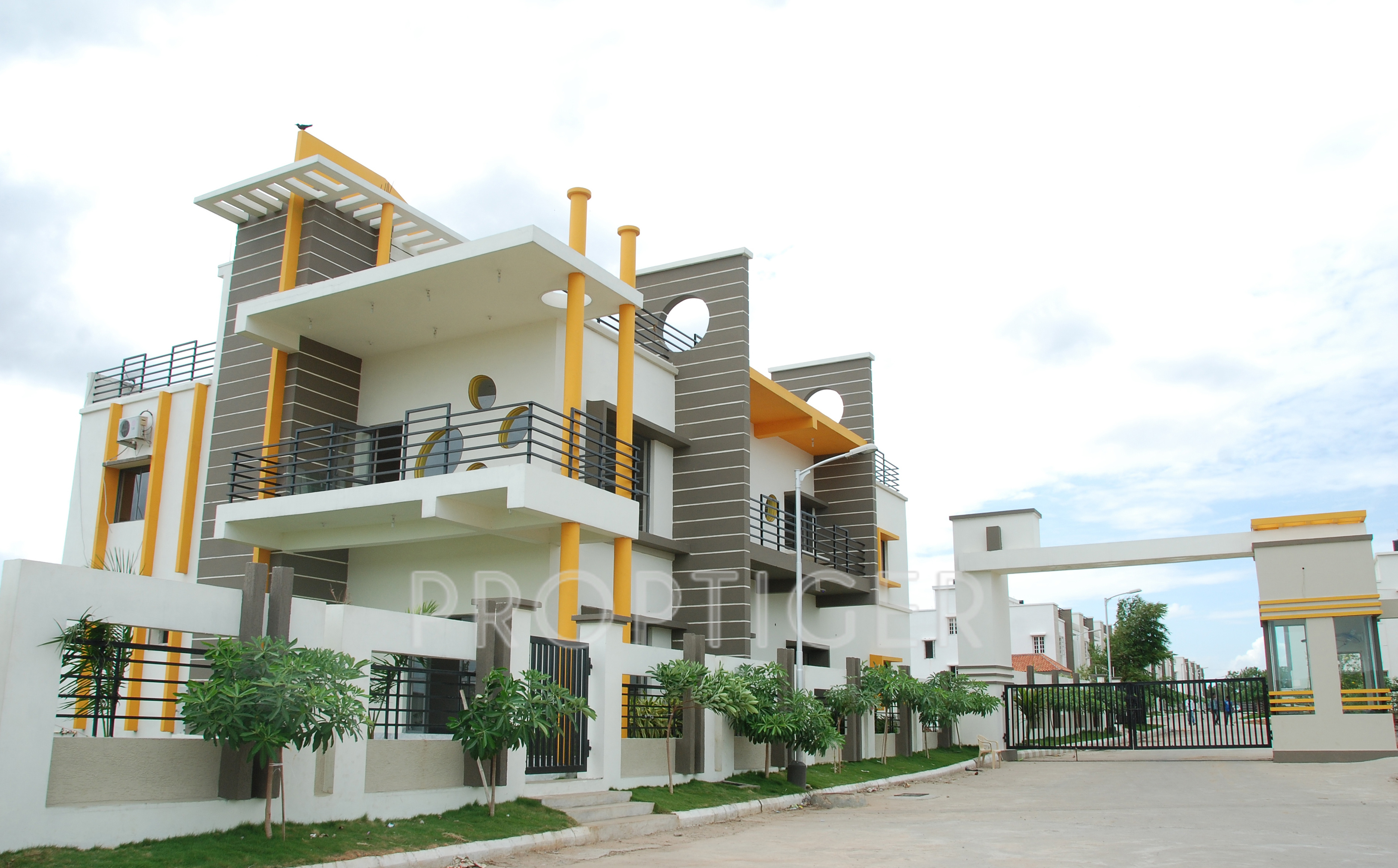 First Floor Elevation In Hyderabad : Image of location map srr heights bachupally hyderabad