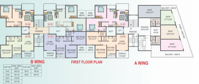 Images for Cluster Plan of panchavati Nest