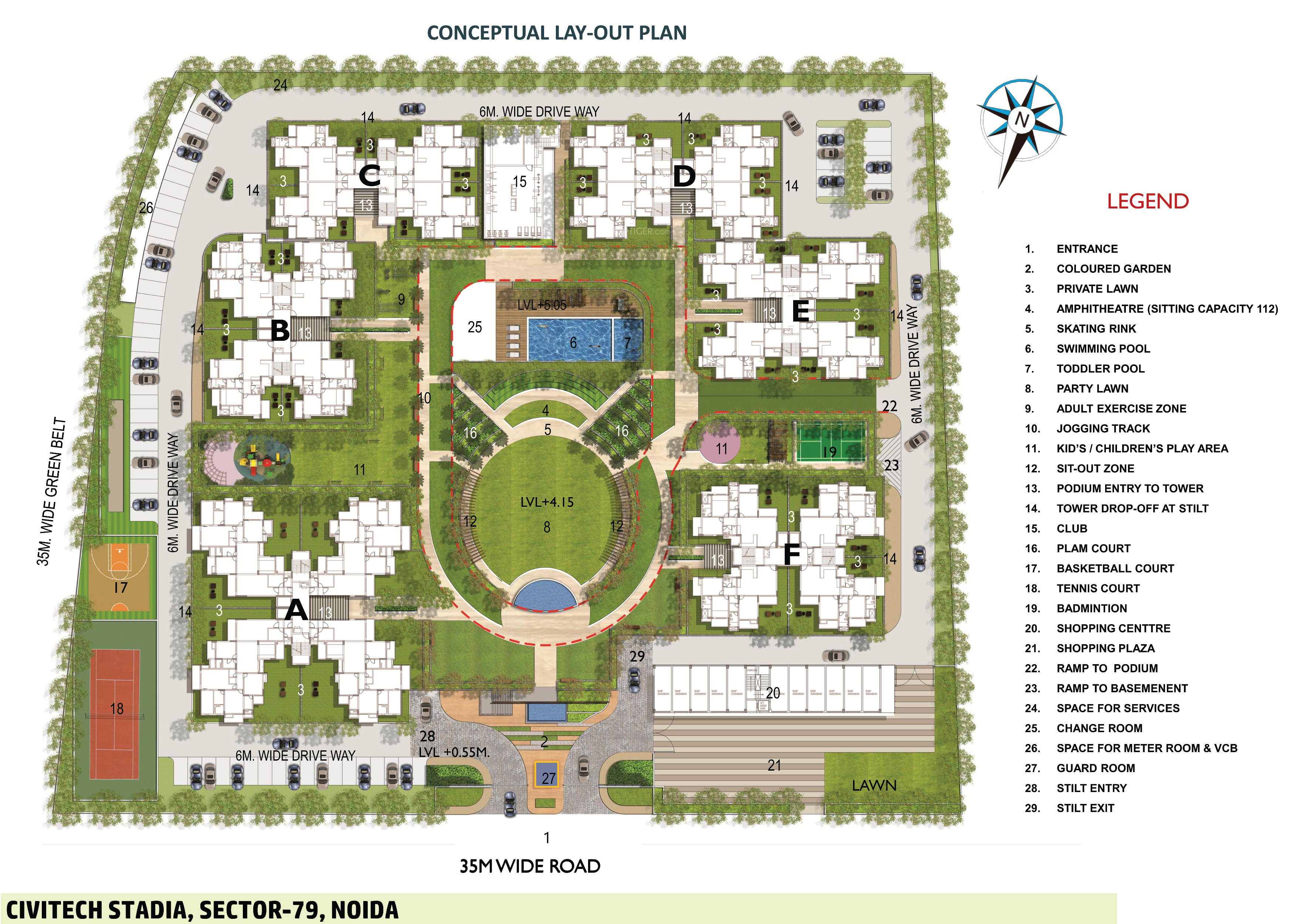 Group Housing Site Plans