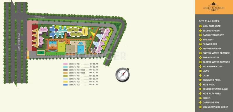 Images for Site Plan of Migsun Green Mansion