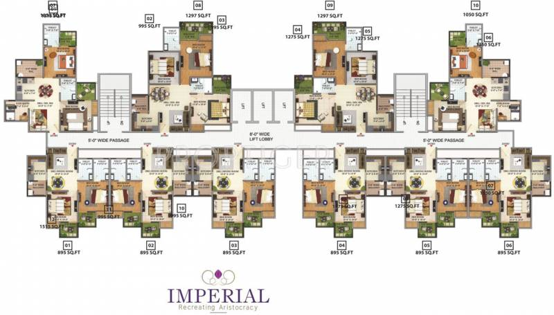 Images for Cluster Plan of Migsun Green Mansion