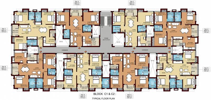 Images for Cluster Plan of Srikaram Shubhadhi