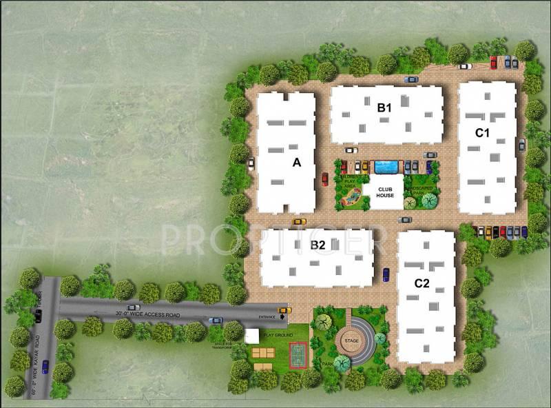 Images for Layout Plan of Srikaram Shubhadhi