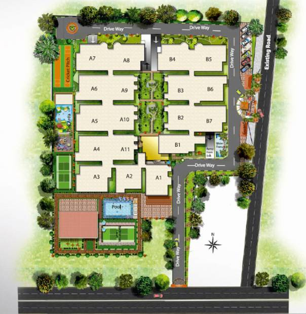 Images for Layout Plan of SVS Silver Woods