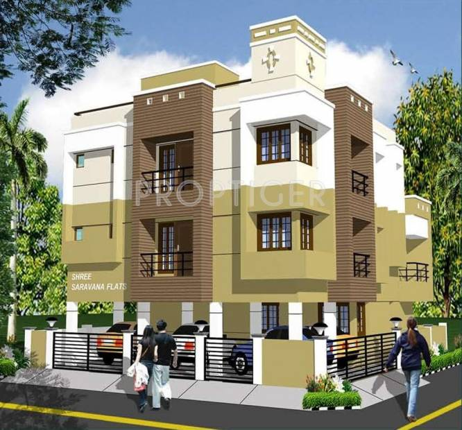 Images for Elevation of Shree Saravana Flats