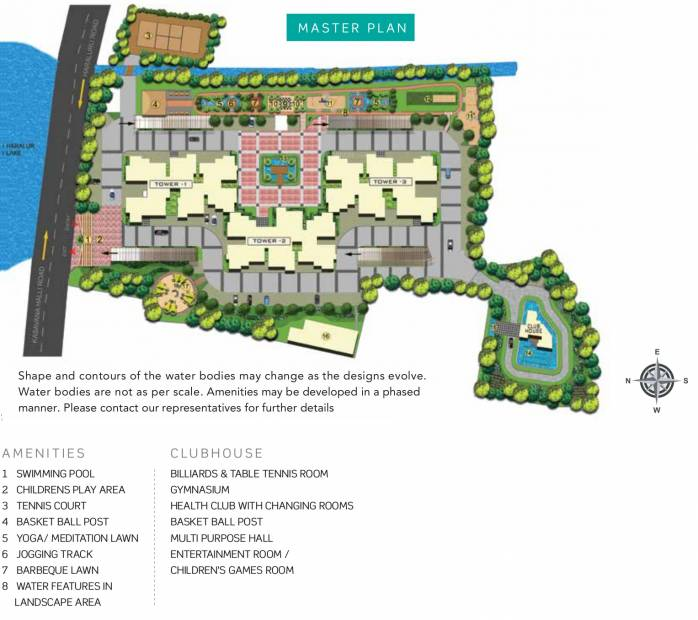 Images for Master Plan of Purva Skydale