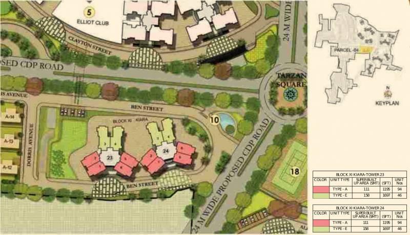 Images for Layout Plan of Prestige Lakeside Habitat