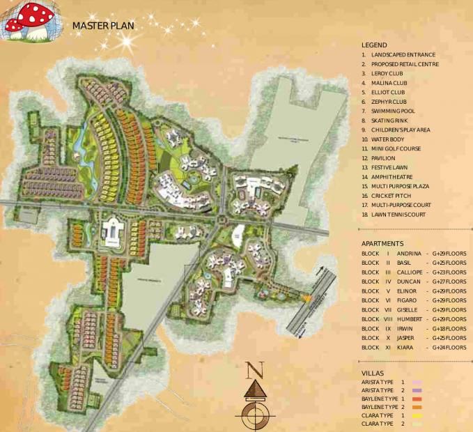 Images for Master Plan of Prestige Lakeside Habitat