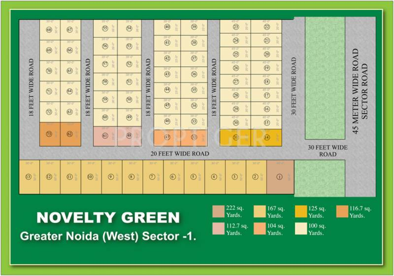 Images for Layout Plan of Novelty Green Plot