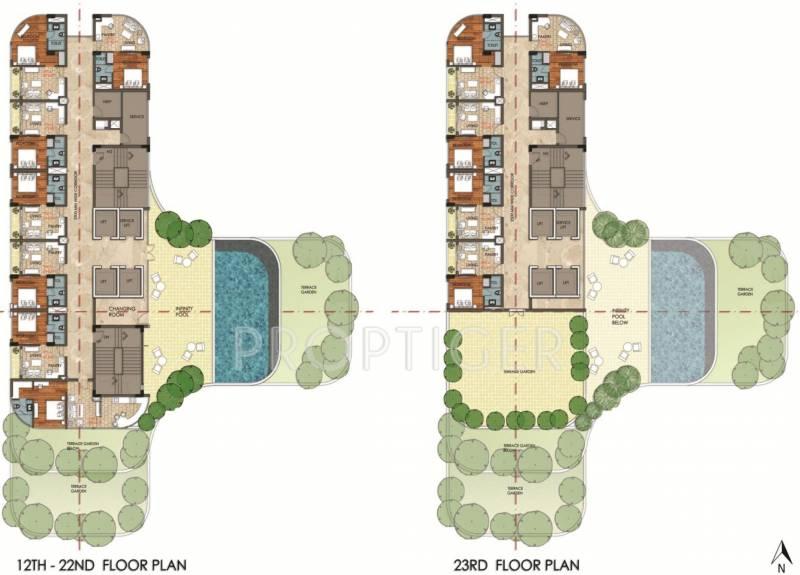 mercado Images for Cluster Plan of Elan Mercado